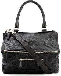 Givenchy Pandora Medium Washed Leather Across–Body Bag - For Women - Lyst