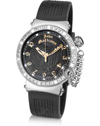 John Galliano - Lelu - Ladies Jewelled Stainless Steel Dress Watch - Lyst