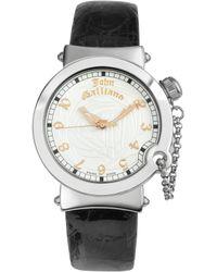 John Galliano - Lelu - Ladies Stainless Steel Dress Watch - Lyst
