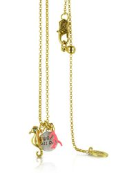 Juicy Couture - Seahorse Charmy Necklace - Lyst