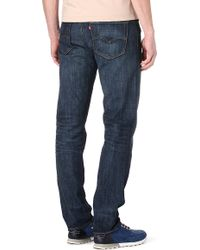 Levi's 508 Regular Slimfit Tapered Jeans - Lyst