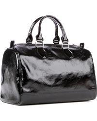 Longchamp - Légende Verni Patent Duffle Bag - Lyst