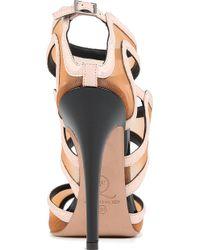 McQ by Alexander McQueen Bombe Sandals - Lyst