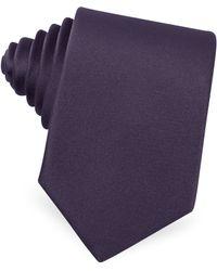 Moreschi | Solid Silk Skinny Tie | Lyst