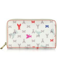 Patrizia Pepe - Pepe Fly Printed Fabric Wallettravel Case - Lyst