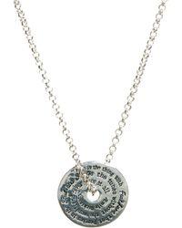 Sam Ubhi - Signature Stamp Necklace - Lyst