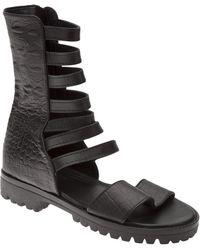 Shakuhachi - Strappy Gladiator Sandal - Lyst