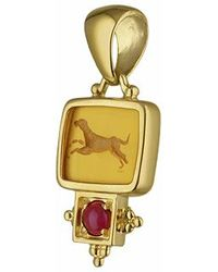 Tagliamonte | Classics Collection - 18k Gold And Ruby Pendant | Lyst