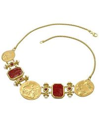 Tagliamonte - Classics Collection - 18k Gold And Ruby Necklace - Lyst