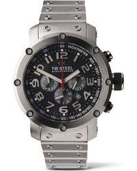 TW Steel - Tw127 Grandeur Tech Chronograph Watch - Lyst