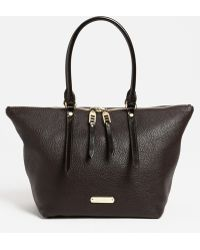 Burberry Salisbury Small Leather Tote - Lyst