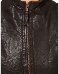 Improvd Leather Liz Jacket - Black