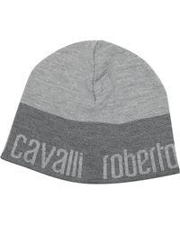 Roberto Cavalli - Signature Brim Wool Hat - Lyst b8e138a1337