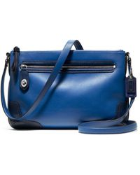 Coach Poppy Colorblock Leather Eastwest Swingpack - Lyst