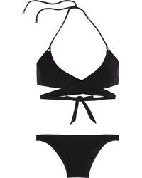 Shimmi - Stevie Triangle Wrap Bikini - Lyst