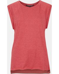 Topshop High Roller Specked Tee Petite - Lyst