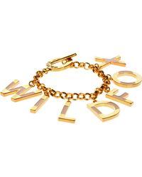 Wildfox - Charm Bracelet - Lyst
