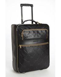 Longchamp Lm Cuir Wheeled Suitcase - Lyst