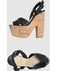 Christian Louboutin Platform Sandals - Lyst