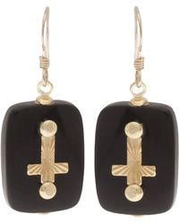 Clemmie Watson - Cross Earrings - Lyst