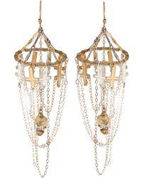 Clemmie Watson - Skull Crosses Earrings - Lyst