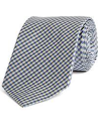 Rag & Bone - Small Check Tie Blue - Lyst