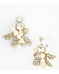 Nina Cluster Drop Earrings - Lyst