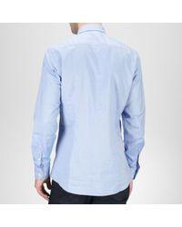 Bottega Veneta Mousseline Cotton Shirt - Blue