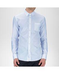 Bottega Veneta Light Blue Oxford Cotton Shirt
