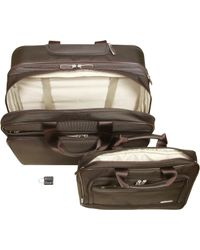 Bric's Pininfarina Soft Large Pilot Case - Brown