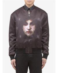 Givenchy Madonna Star Print Bomber Jacket - Lyst