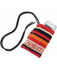 Roberto Cavalli - Red Signature Cell Phone Holder - Lyst
