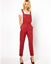 ASOS Collection Tailored Dungarees - Lyst