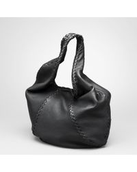 Bottega Veneta Nero Washed Cervo Bag - Lyst