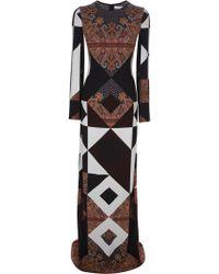 Givenchy Paisley Print Maxi Dress - Lyst