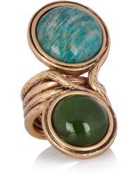 Oscar de la Renta Goldplated Ring - Lyst