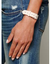 Cold Picnic - Feather Print Leather Watch - Lyst