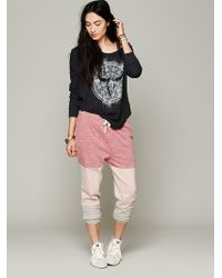 Free People Colorblocked Wing Pant - Lyst