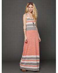 Free People O Maya Maxi Dress - Lyst