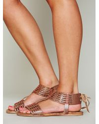 Bed Stu - Cadice Stitch Sandal - Lyst