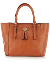 Karen Millen Ultimate Leather Small Tote Bag - Lyst