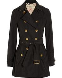 Burberry Brit - Shell Trench Coat - Lyst