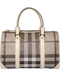 Burberry - Small Chester Smoked Check Bag - Lyst