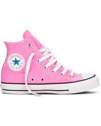 Converse High Top Sneakers Pink - Lyst