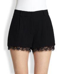 Diane von Furstenberg | Yara Lacetrim Shorts | Lyst