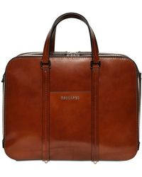 DSquared² Brushed Leather Bag - Brown