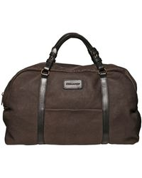 DSquared² Leather Duffle Bag - Lyst