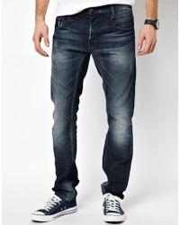 G-Star RAW Jeans New Radar Slim Dark Aged - Dk Aged - Blue