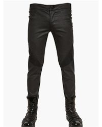 Gareth Pugh | Light Waxed Stretch Cotton Trousers | Lyst