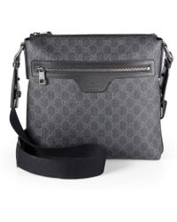 Gucci Small Gg Messenger Bag - Lyst